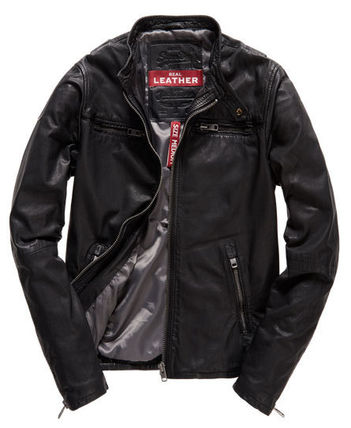 Superdry 2016 SS leather jacket
