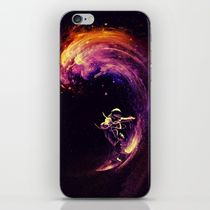 【海外限定】society6★Space Surfing iPhoneシール