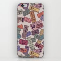 【海外限定】society6★Vintage Tickets iPhoneシール
