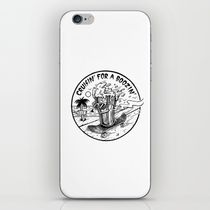【海外限定】society6★Cruisin' for a Boozin' iPhoneシール