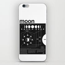 【海外限定】society6★Moon infographic iPhoneシール