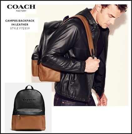 【COACH】送料関税込★CAMPAS BACKPACK IN LEATHER  F72159