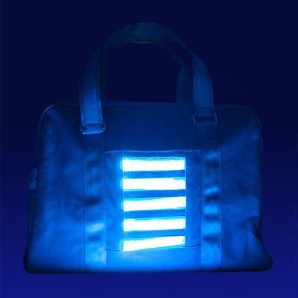 """Super limited Sprayground """"BAG TO THE FUTURE"""" LED Duffle Bag"""