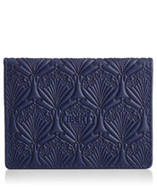 Liberty(リバティ ) カードケース・名刺入れ 【ロンドン買付】FLOWERS OF LIBERTY〓NAVY CARD CASE