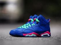 "★WMNS★[NIKE]Air Jordan 6 GS ""Royal Purple""【送料込】"