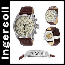 INGERSOLL(インガソール) アナログ腕時計 日本未入荷☆ ingersoll Bel Air Auto Brown Leather Ivory Dial