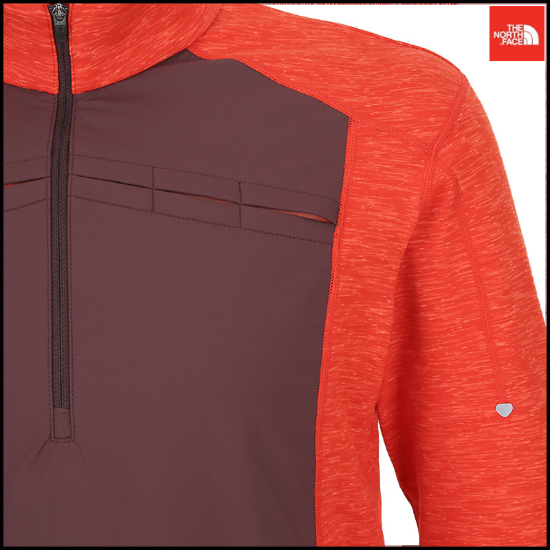 THE NORTH FACE(ザノースフェイス) M'S DYNAMIC FLASH L/S ZTEE