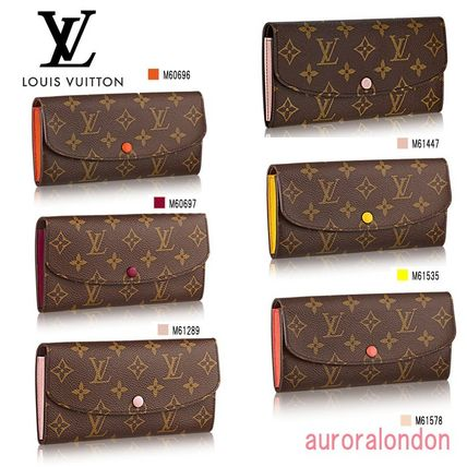 Louis Vitton Louis Louis Vuitton long wallet EMILIE
