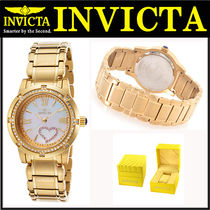 INVICTA(インヴィクタ) アナログ腕時計 INVICTA Angel Mother of Pearl Dial Gold-plated Ladies Watch