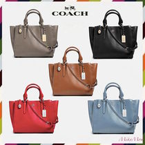 関税不要♪ COACH ☆ CROSBY carryall in Smooth leather 33545