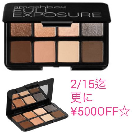 好評☆ Smash box Full Exposure Travel Palette アイシャドウ