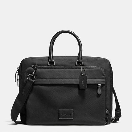 COACH METROPOLITAN SLIM BRIEF IN NYLON