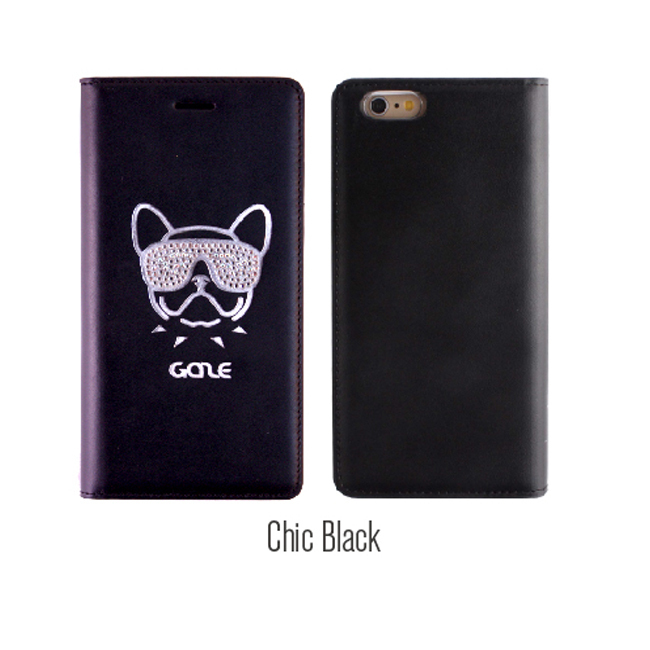 上級ブランド/  French Bulldog Swarovski for iPhone6/6s