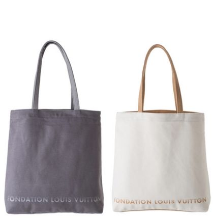 Paris limited FONDATION LOUIS VUITTON tote bag