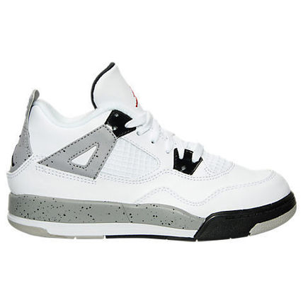 SS16 AIR JORDAN RETRO 4 WHITE CEMENT OG PS 17-22cm 送料無料