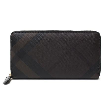 Burberry long wallet 3996188 LG ZIG color:CHOCOLATE
