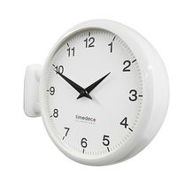 Timedeco Modern Double Clock Wh (A5)
