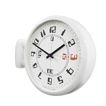 Timedeco Modern Double Clock Wh (A4)