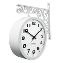 Timedeco Modern Double Clock TD-A standard(WH)