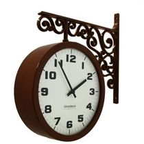 Timedeco Modern Double Clock TD-A(BR)