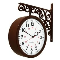 Timedeco Modern Double Clock TD-A2(BR)