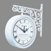 Timedeco Modern Double Clock TD-0604 (WH)