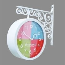 Timedeco Modern Double Clock TD-4COLOR(WH)