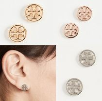 New!国内発送 Tory Burch *Logo Circle Stud ピアス♪