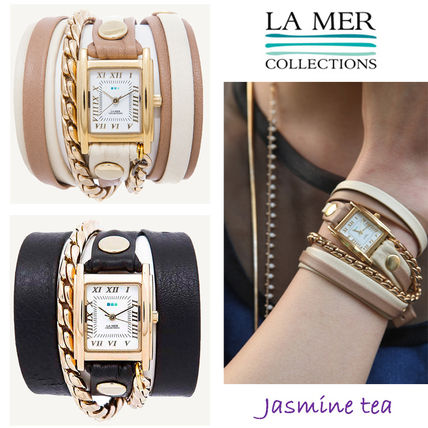 popular LA MER COLLECTIONS cable lap watch