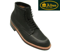 大人気最高級ブーツ Alden★Indy Boot★Black Workboot Leather