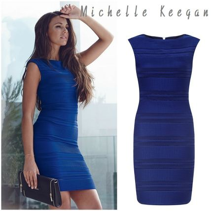 '16NEW♡Lipsy Love Michelle Keegan Ripple Dress