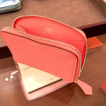 "HERMES/2016 ""ROSE CANDY""☆【Portefeuille""AZAP mini""】☆"