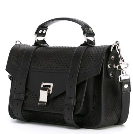 """Proenza Schouler ハンドバッグ 16SS PS074 """"PS1″ perforated tiny satchel(2)"""