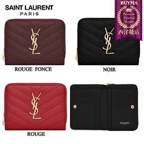 SAINT LAURENT 16SS┃PORTEFEUILLE ZIPPE ┃403723BOW01