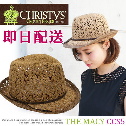 【即納】Christys' Crown Series THE MACY CCS5 中折れハット