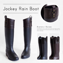 【Pompadour-ポンパドール-】Jockey Rain Boot [PD047]