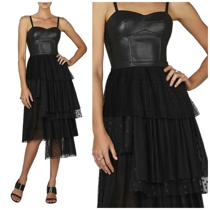 Sale BCBGMAXAZRIA FAS Reza X tulle lace dress