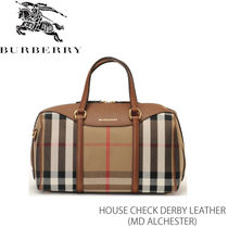 【BURBERRY】MD ALCHESTER House Check Derby Leather