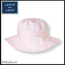 【Janie and Jack】日本未入荷☆ストライプサンハット 国内即納