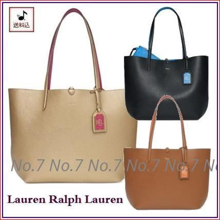 SALE Ralph Lauren reversible Pouch with tote