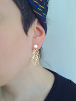 All Hexed Out Hexagon Earrings