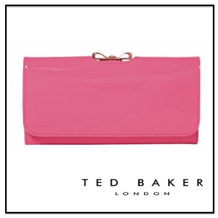 【TED BAKER】クリスタル Bobble長財布☆pink♪送料込・国内発送