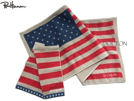 Ron Herman United States flag face & hand towel set gift