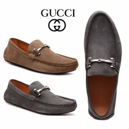 Sale★【Gucci】ローファー★Distressed Bit Driving Loafer