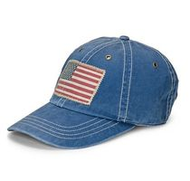 新作★入手困難★送料込★Polo Ralph Lauren Chino Flag Cap Blu