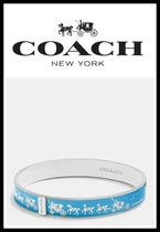 ☆日本未入荷!新作!!☆*COACH HORSE and carriage enamel bangle