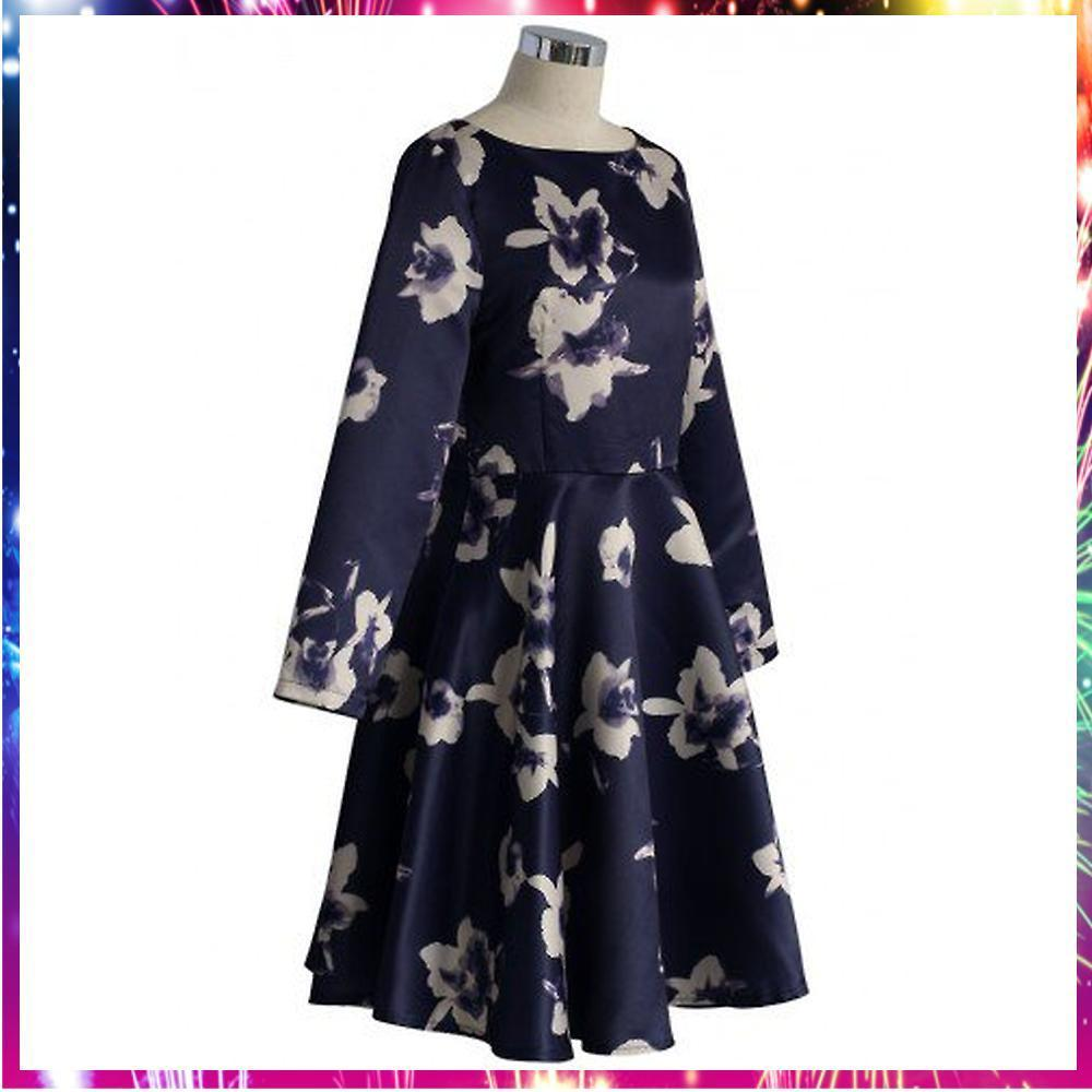 【送料・関税込・国内発送】Elusive Watercolor Floral Dress
