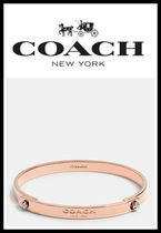 ☆日本未入荷!新作!!☆*COACHDAISY rivet coach tension bangle