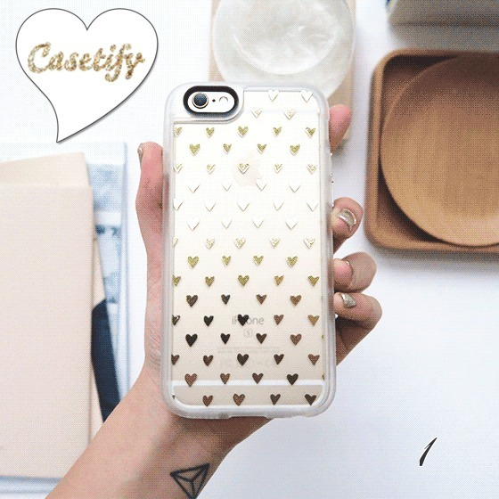 ☆Casetify ☆Stay Gold Collection☆iPhoneクリアケース☆