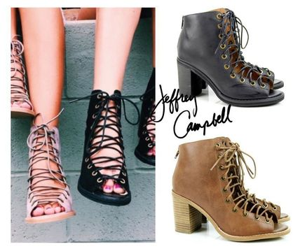 Jeffrey Campbell♥レースアップ・肌見せアンクル